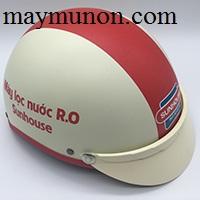Nón bảo hiểm - đặt nón bảo hiểm in logo giá rẻ tp hcm ms60
